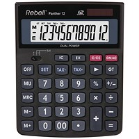 Rebell Panther 12 BX Desktop Calculator RE-PANTHER 12 BX
