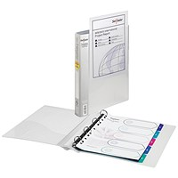 Snopake Presentation 4 A4 Ring Binder 25mm Clear