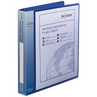 Snopake Executive Presentation 4D-Ring Binder A4 Electra Blue