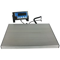 Salter Silver Electronic Parcel Scale 120kg (Includes hold and tare functions) WS120