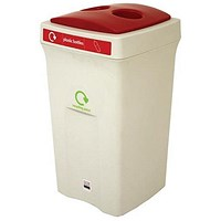 Recycling Bin, 100 Litre, Red
