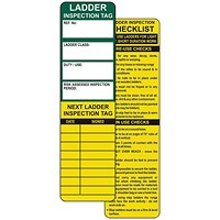 Spectrum Industrial Ladder Tagging System (Pack of 10) TG0410