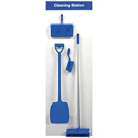 Spectrum Industrial Shadowboard Cleaning Station A Blue SB-BD01-BL