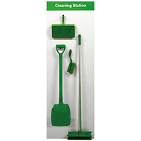 Spectrum Industrial Shadowboard Cleaning Station A Green SB-BD01-GR