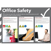 Office Safety Poster 420x594mm