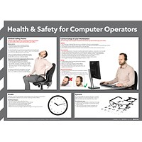 Health and Safety For Computer Operators Poster 420x594mm