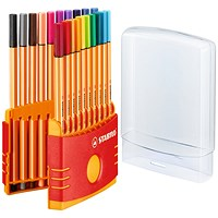Stabilo Point 88 ColorParade Fineliner Pens (Pack of 20)