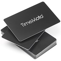 TimeMoto by Safescan RF-100 Cards RFID for TimeMoto & Safescan Terminals - Pack of 25