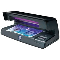 Safescan 50 UV Counterfeit Detector Checker 0.515g L206xW102xH88mm Black