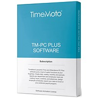 TimeMoto by Safescan TM PC Software Plus for Time & Attendance System - Unlimited Users