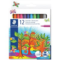 Staedtler Noris Fibre Tip Pens Assorted Colours (Pack of 120)