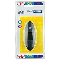 Status Compact Digital Luggage Scales (Pack of 4) SDLSCALE1Pk4