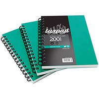 Silvine Hardcover Twinwire Notebook, A5, Ruled & Perforated, 192 Pages, Pack of 6