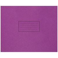 Silvine Handwriting Book 165x203mm Purple (Pack of 25)