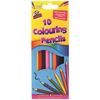 Artbox 10 Full Size Colour Pencils (Pack of 12)