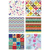 Tallon Assorted Gift Wrap (Pack of 36)