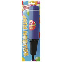 Balloon Pump Pink and Blue (Pack of 12)