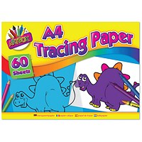 Art Box Tracing Paper Pad A4 60 Sheets (Pack of 12) TAL05069