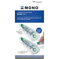 Tombow MONO air4 Correction Tape 4.2mm x 10m (Pack of 3)