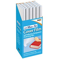 Book Covering Film 330mm x 1m (Pack of 30)