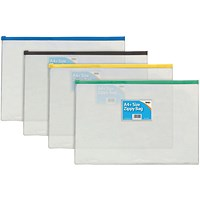Sundry A4 Zip Bag (Pack of 12)
