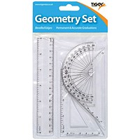 Small 4 Piece Geometry Set (Pack of 12)