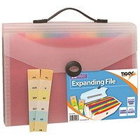Tiger A4-26 Part Expanding File (Pack of 6)
