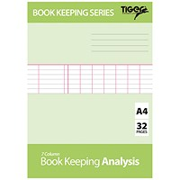 Book Keeping Book Analysis (Pack of 6) 302298