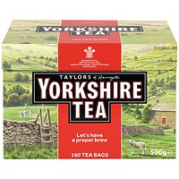 Yorkshire Tea Bags (Pack of 160)