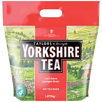 Yorkshire Tea Bags (Pack of 600)