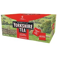 Yorkshire Tea Tagged and Enveloped (Pack of 200)
