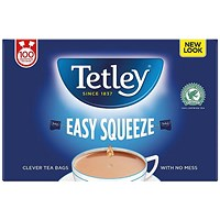 Tetley Drawstring Non Drip Tea Bags - Pack of 100