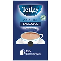 Tetley Envelope Teabags (Pack of 200)