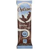 Options White Hot Chocolate 11g (Pack of 30)
