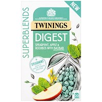Twinings SuperBlends Digest HT (Pack of 20)