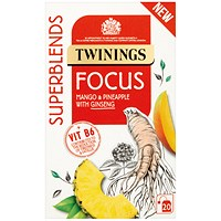 Twinings SuperBlends Focus HT (Pack of 20)