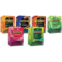 Twinings Pure Variety Pack Pyramid Pack of 100 F12656