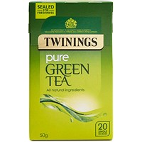 Twinings Pure Green Tea Bags - Pack of 20