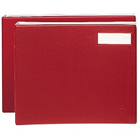 Rexel Variform V8 Multi-Ring Binder Maroon (Stores up to 150 loose leaf sheets) 75155
