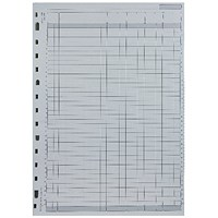 Twinlock V4 Variform Sheets, 4 Cash Columns, Ref: 75930, Pack of 75