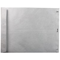 Tyvek Strong Gusseted Envelopes, D4A, H381xW250xD50mm, White, Pack of 100