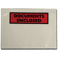 GoSecure Document Envelopes Documents Enclosed Self Adhesive A7 (Pack of 100) 9743DEE01