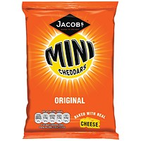 Jacobs Mini Cheddars Original Grab Bag (Pack of 30)
