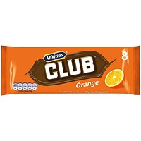 McVities Club Orange Biscuits (Pack of 8) 16726