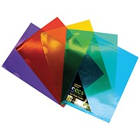 Stewart Superior Seco Cut Flush Folders A4 Assorted (Pack of 25)