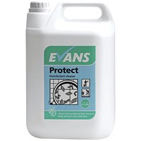 Evans Protect Disinfectant Concentrate 5 Litre (Pack of 2)