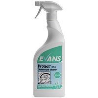 Evans Protect Ready-to-Use Disinfectant 750ml (Pack of 6)
