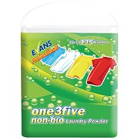 Evans One3Five Non-Biological Laundry Powder 10kg