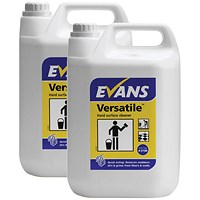 Evans Versatile Hard Surface Cleaner 5 litre (Pack of 2)