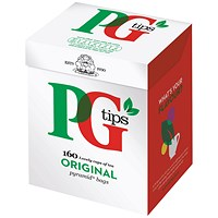 PG Tips Pyramid Tea Bags (Pack of 160)